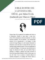 EL DOBLE ROSTRO DE LA LEYENDA DEL GRIAL...por Marcos Ghio) | Biblioteca Evoliana