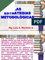 LAS ESTRATEGIAS METODOLÓGICAS 1.ppt