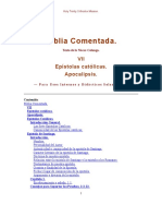 BIBLIA COMENTADA - EPISTOLAS CATOLICAS, APOCALIPSIS.pdf