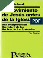 EL MOVIMIENTO DE JESUS ANTES DE LA IGLESIA - HECHOS (Pablo Richard).pdf