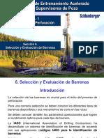 Selección y Evaluación de Barrenas