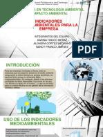 Indicadores ambientales para la empresa