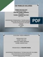 Tipos de Paneles Solares_ecología y Medio Ambiente