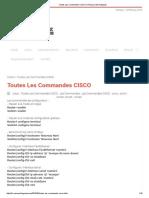Toutes Les Commandes CISCO _ Réseaux Informatiques