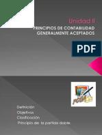 Diapositivas de los principios de contabilidad generalmente aceptados