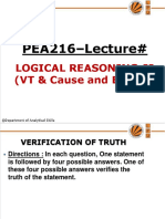 A1552504613_21136_5_2019_7. UNIT- III Logical Reasoning- II(VT and Cause & Effect)