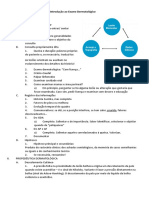 Microsoft Word - 1- Introdução Ao Exame Dermatológico.docx