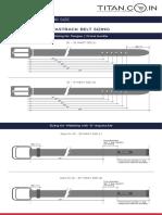 Belt Sizing Chart