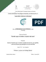 Z1 Proyecto Para Alumnos de Aprendizaje Electrónico