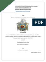 Mision y Vision de Las PFP