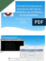 tutorial Calculo Hidraulico de Alcantarillado