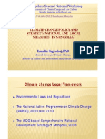 Climate Change Policy and Strategy