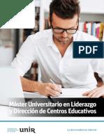 M O Liderazgo Gestion Centros Educativos Esp