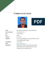 Muhamad Khairul Anuar b Hussin 2017 CV