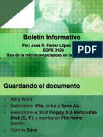 Boletin Informativo.ppt