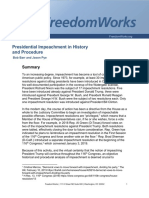 Presidential Impeachment in History and Procedure