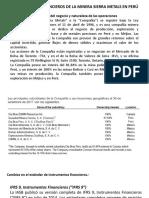 Instrumentos financieros para minería
