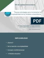 Estrategias Empleabilidad Titulados Jorge Martinez Catedra UNESCO