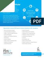 3 PDS Institute Brochure