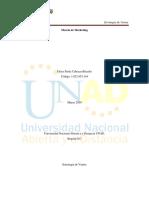 Unidad 1 Fase 2_Trabajo Estrategia de Ventas_Unad