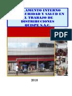 REGLAMENTO INTERNO DE SST DE DISTRIBUCIONES QUISPE S A C .pdf
