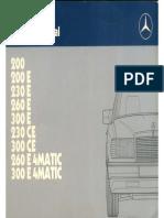 MB W124 Manual.pdf
