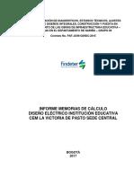 I.E LA VICTORIA ELECTRICO MEMORIA DE CALCULO.pdf