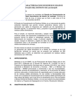 Estudio de Caracterizacion - Lachaqui