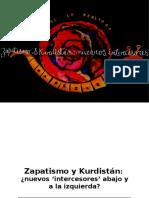 Zapatismo y Kurdistán. Nuevos Intercesores Abajo y a La Izquierda