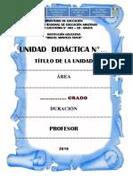 Esquema de Unidad Didáctica MMT