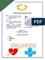 Word 2013 Ejercicios