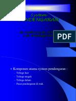 Kuliah System Pendengaran 2012