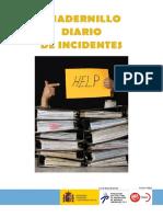 Cuaderno Diario de Incidentes