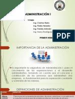 Administración i 1. Hemi.