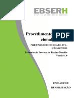 POP fisioterapia estimulação precoce versão final Manipulação mínima e estimulação precoce