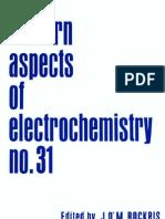 Modern Aspects of Electrochemistry No. 31 - j. o m. Bockris