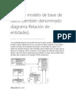 Crear Un Modelo de Base de Datos