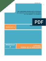 1402644445.06 - Pérez Gómez. - Las Funciones Sociales de La Educacion