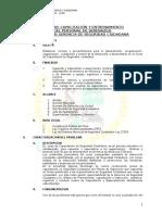 Plan de Capacitacion Serenos San Luis