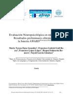 AWARD Neuropsychological