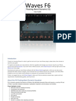 Waves F6 Manual