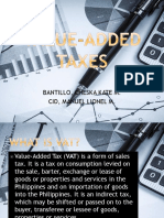 Value Added Taxes