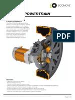 ECOmove Powertrain Specifications