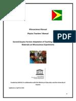 Physics Teachers Manuals