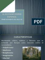 El Romanticismo Español