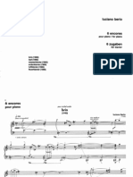 Berio Luciano- 6 Encores Pour Piano