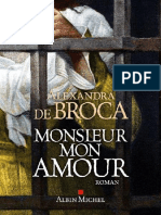 Alexandra de Broca - Monsieur Mon Amour