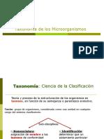 Taxonomia Bacteriana unlp