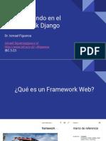 Desarrollando en El Framework Django