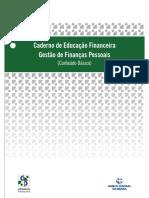 Caderno de Educação Financeira - Gestão de Finanças Pessoais